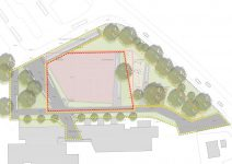 Kortemeier Brokmann Landschaftsarchitekten Vorentwurf mit Bearbeitungsgrenzen