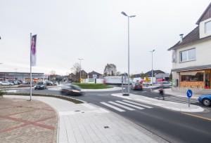 Kreisel Süd - Sanierung Lange Straße